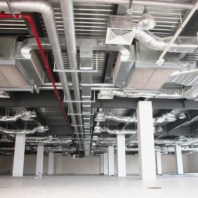Thiết kế thi công hệ thống điều hòa không khí