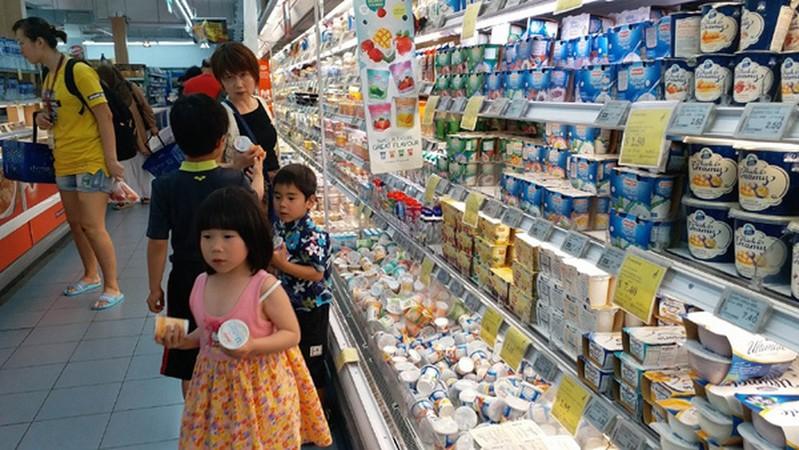 Tủ chứa bơ, sữa