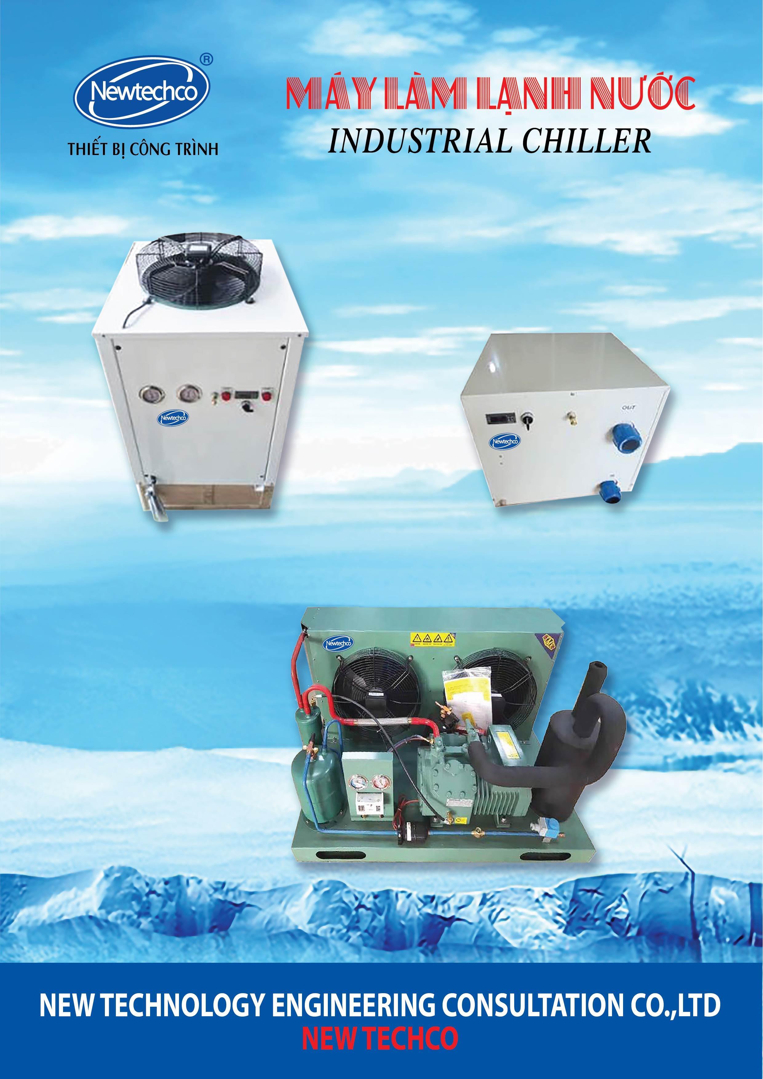 Catalogue Máy làm lạnh nước Chiller