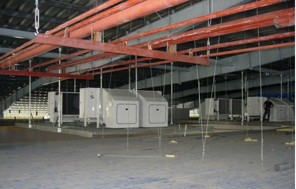 Kho lạnh công nghiệp sử dụng dàn lạnh Penthouse
